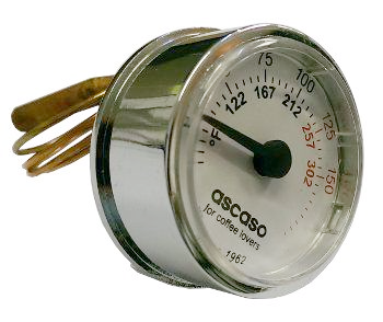 Ascaso dream temperature gauge