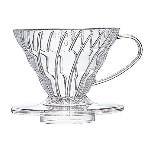 Hario V60 Plastic Coffee Dripper 01 Clear