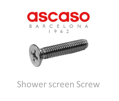 Ascaso shower screen screw