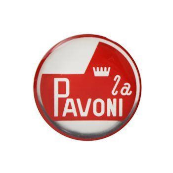La Pavoni domed gel sticker